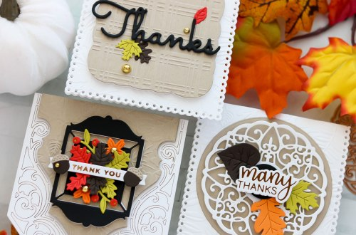 Sweet Notecards and Fall Traditions with Lisa Mensing
