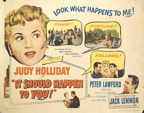 Image result for It Should Happen to You 1954