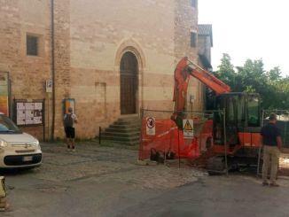 PIR centro storico, chiuso l'accesso al parcheggio di Sant'Andrea