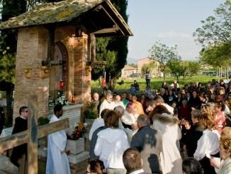 Cannara, cerimonia di donazione dell'Edicola di Piandarca