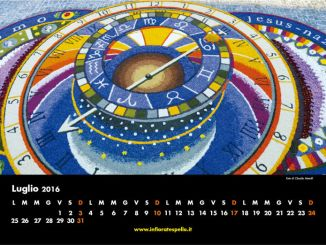 Maestri del petalo, è disponibile il calendario 2016