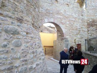 Porta di Borgo San Sisto è tornata alla città in tutto il suo splendore FOTO