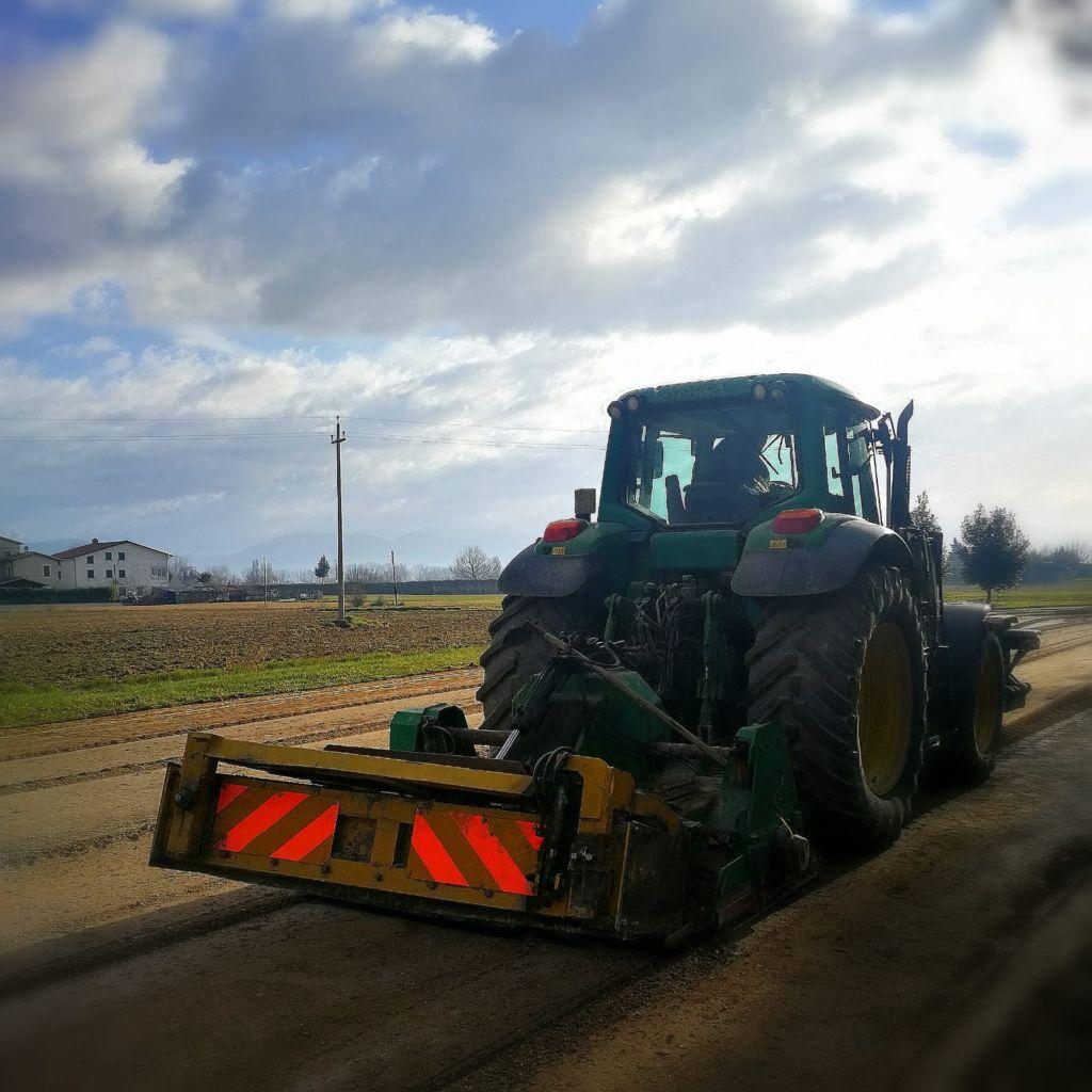 In corso i lavori di manutenzione straordinaria sulle strade comunali di Cannara