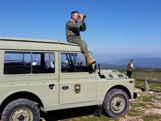 Condannato cacciatore, minaccia a mano armata una guardia del WWF,