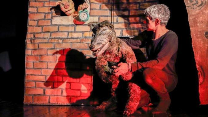 I tre porcellini del Teatro Accettella al Subasio di Spello