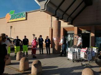 Solidarietà alimentare, i dipendenti del Superconti donano ore di lavoro