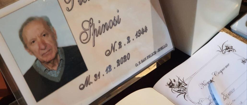 Morto il papà di Lorenzo Spinosi, il nostro responsabile della pubblicità