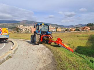 In corso i lavori di manutenzione nel territorio comunale
