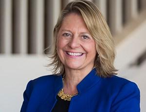 headshot of bennington college president Laura Walker