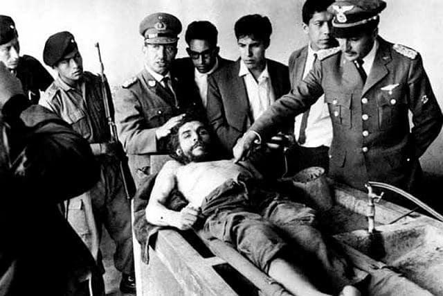 Che Guevara (foto di Marc Hutten)