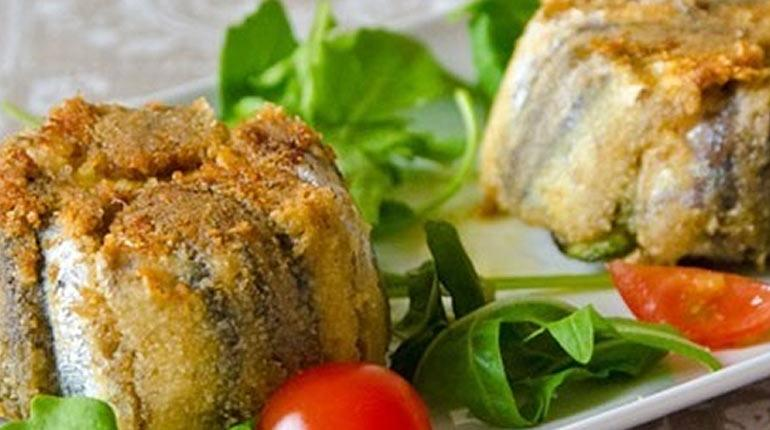 Sformatini di alici e zucchine