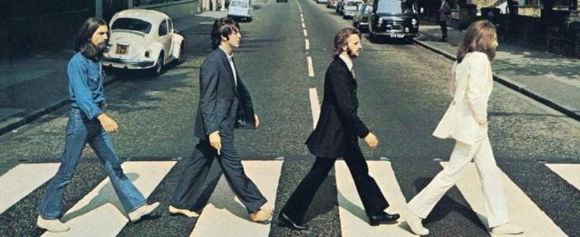 Beatles sulle strisce ad Abbey Road