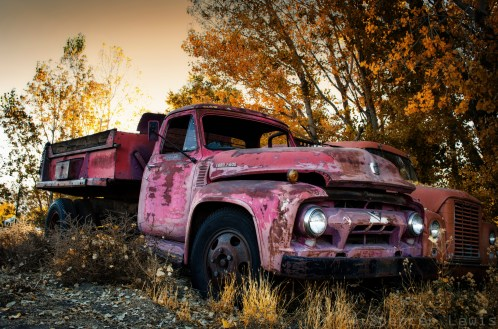 Old Red Truck