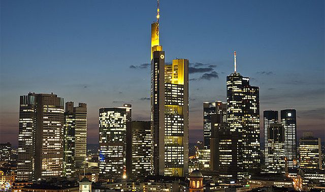 European bank stocks are down, as fears rise about the banking system and the economy.