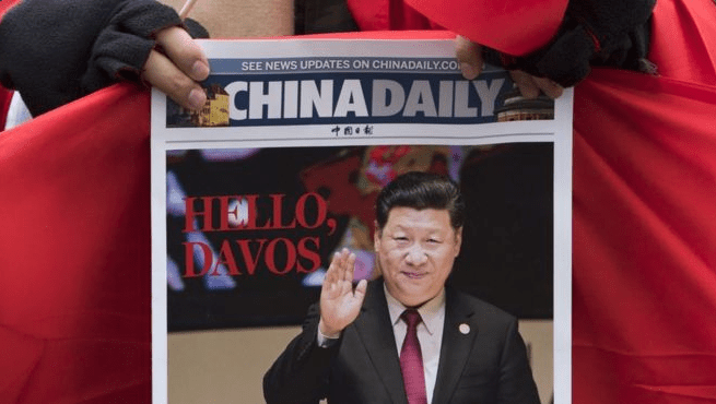 China Davos Globalist Elitists
