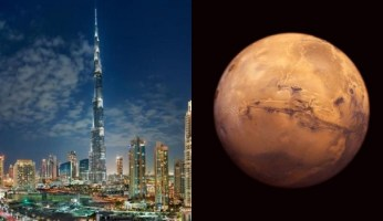 United Arab Emirates - Money For Mars, Nothing For Syrian Refugees
