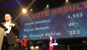 LANDSLIDE - Jason Kenney Winner Of Alberta PC Party Leadership Race