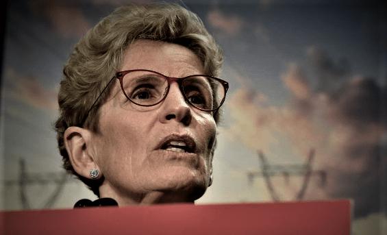ROCK-BOTTOM - Kathleen Wynne Approval Falls To Just 12%