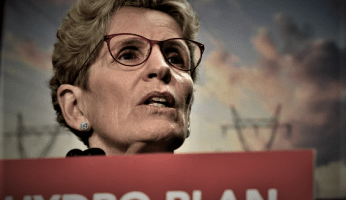 ROCK-BOTTOM - Kathleen Wynne Approval Falls To Just 12%
