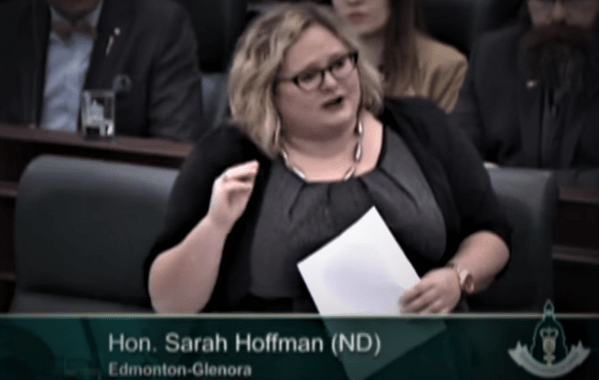 """""""SEWER RATS"""": Sarah Hoffman Must Resign For Insulting Albertans"""
