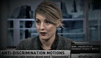WATCH - Trudeau Minister Fails Miserably Trying To Defend M-103