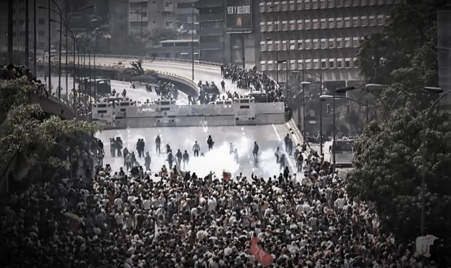 Violence In Venezuela As People Rebel Against Socialist Regime