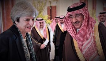 Theresa May Hiding Report Into Saudi Arabia's Financing Of Terrorism