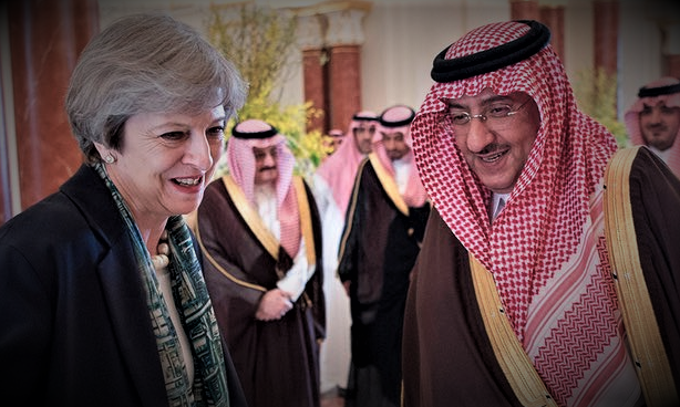 Theresa May Hiding Report Into Saudi Arabia's Financing Of Terrorism