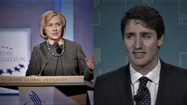 Trudeau Gave $20 MILLION In Taxpayer Money To The Clinton Foundation