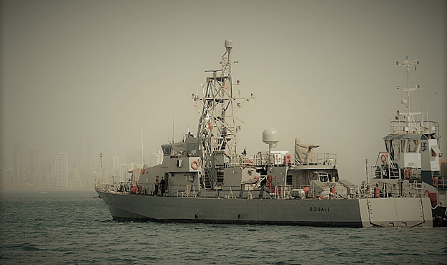 U.S. Navy Ship Fires Warning Shots At Iranian Revolutionary Guard Ship