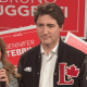 PHOTO: Trudeau Stares Into The Void At Campaign Rally