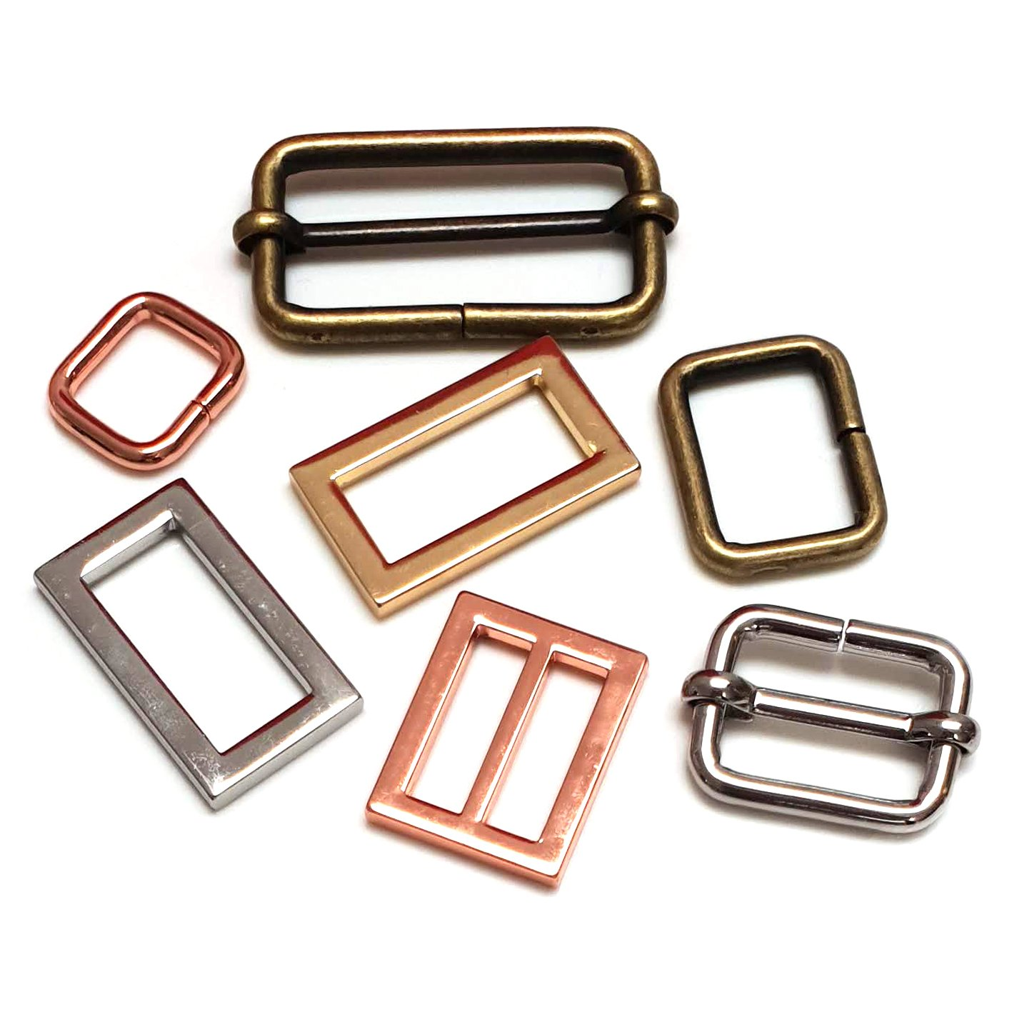 Square Rings and Sliders