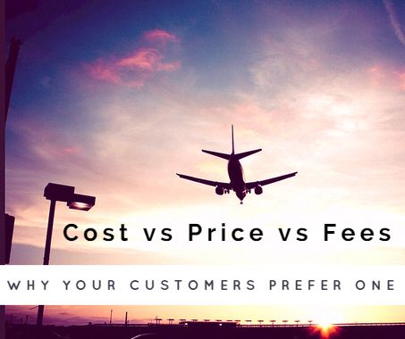 Cost vs price vs fees: why your customers prefer one