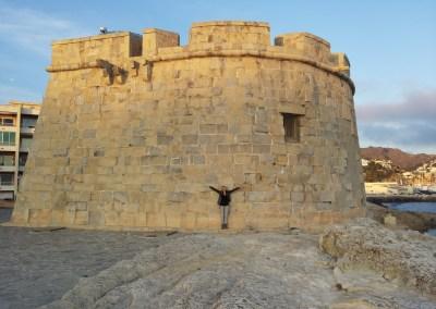 Moraira Castle, Costa Blanca, Spain