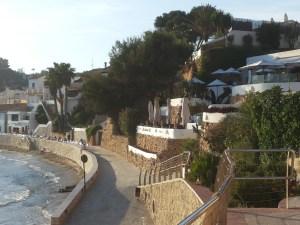 El Portet beach, Moraira, Spain