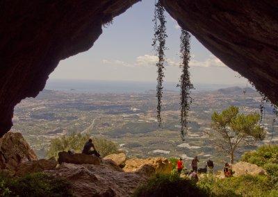 Climbing the Sierra Bernia