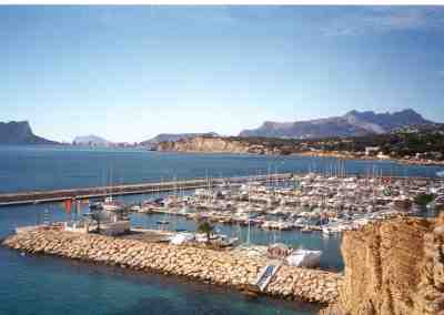 Port of Moraira, Costa Blanca, Spain