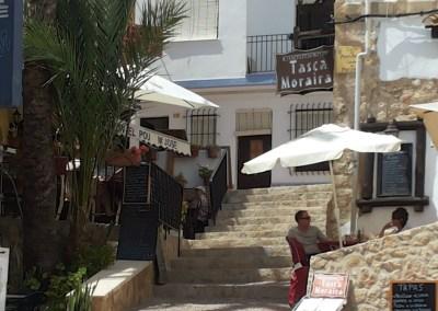 Moraira town centre, Costa Blanca