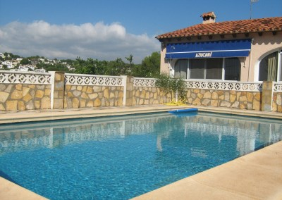 Villa with pool in Moraira, Costa Blanca