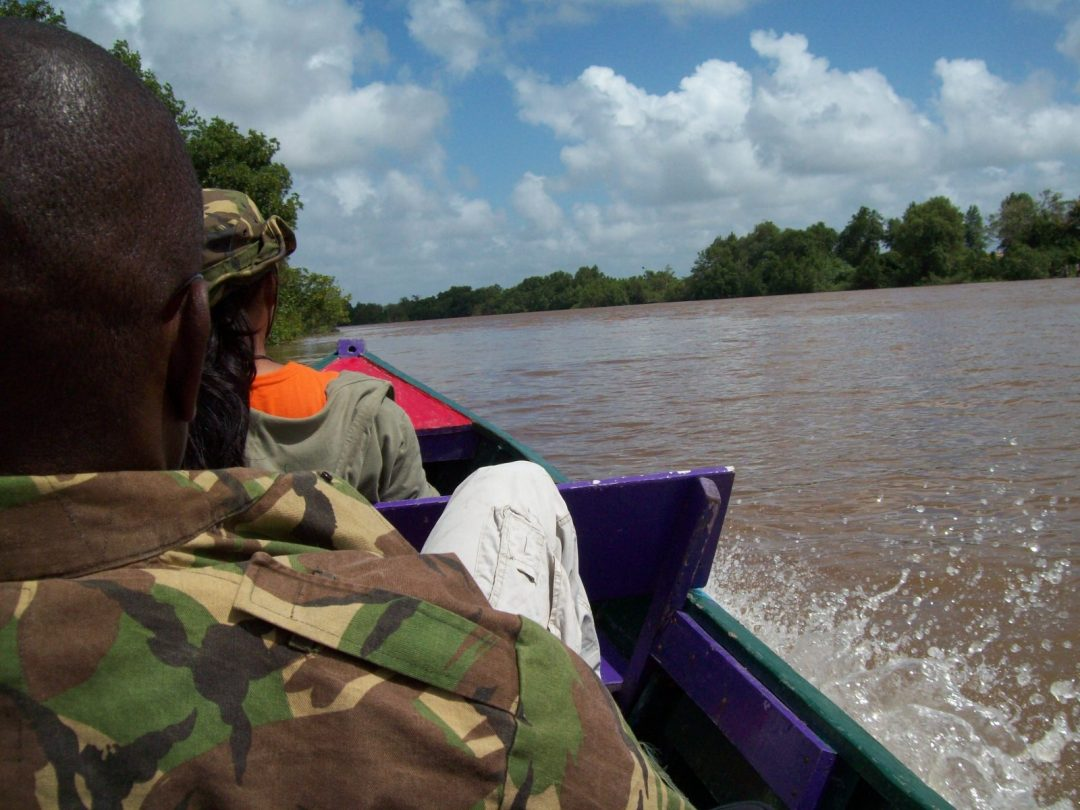 Exploring Suriname by boat