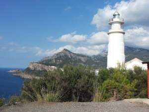 Lighthouse in Port de Soller, Mallorca
