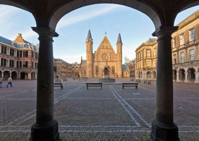 Binnenhof in The Hague, Holland
