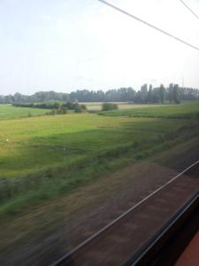 Exploring Holland by train