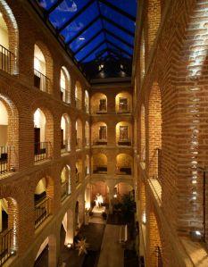 history in Spanish Parador hotel