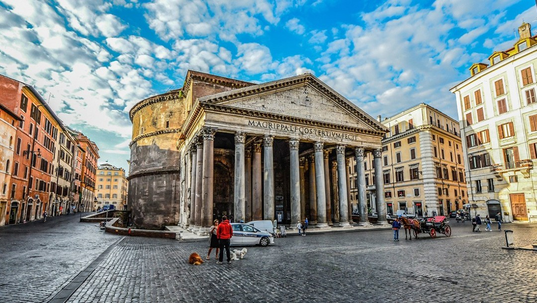 What to see & do in Rome in 24 hours - Pantheon, Rome - must visit