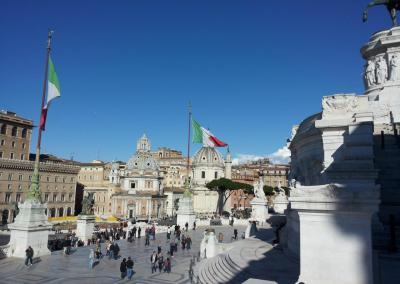 piazza venezia rome italy