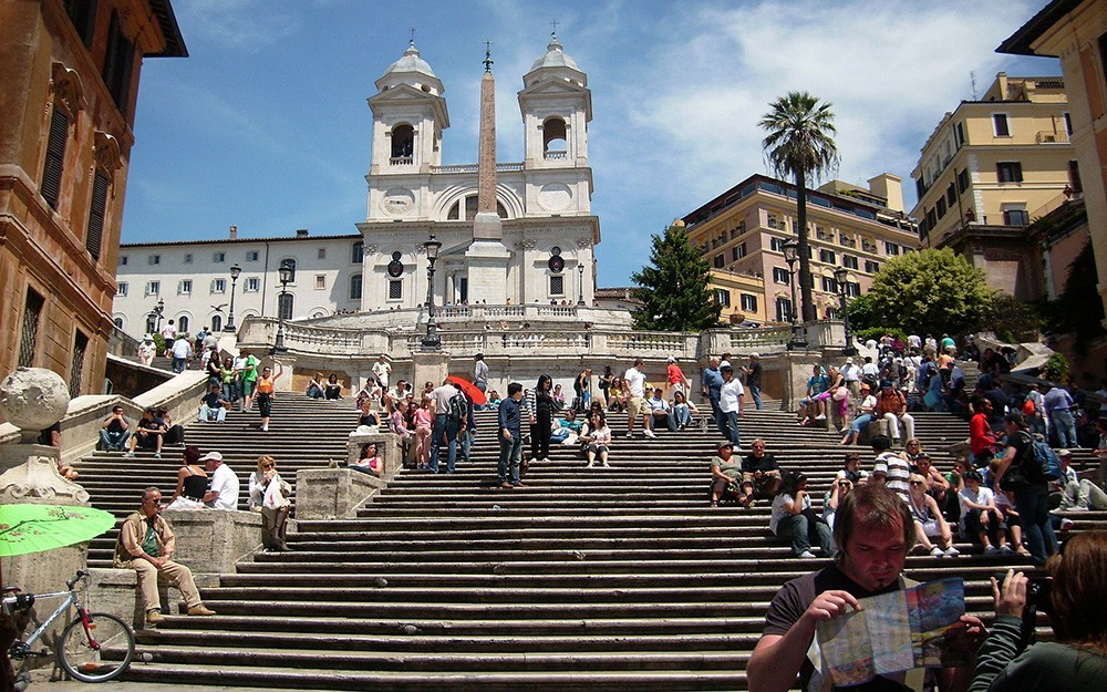 What to see & do in Rome in 24 hours - Spanish Steps, Rome, Italy