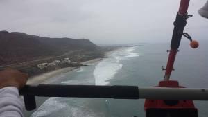 flying a trike in Baja California, Mexico