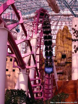 Circus Circus Las Vegas roller coaster - What to do in Las Vegas if you don't like gambling