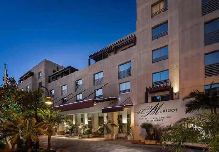 Where to stay in Los Angeles - JW Marriott Santa Monica Le Merigot hotel